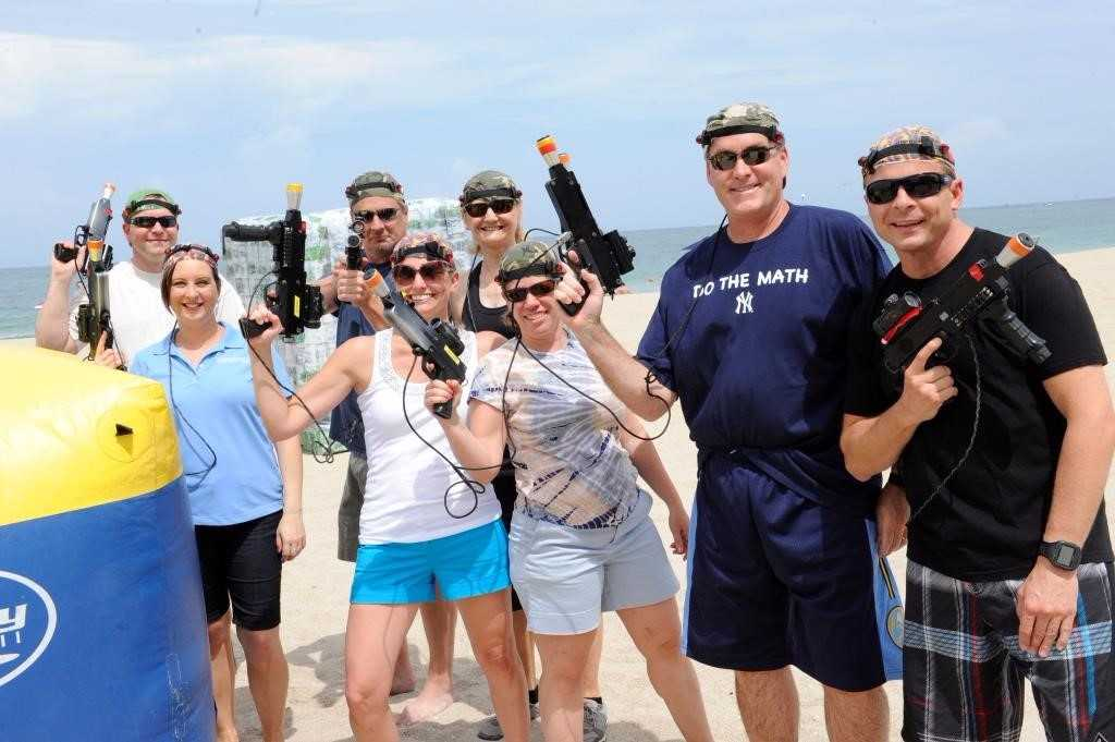 Laser Battle Naples Florida Beach